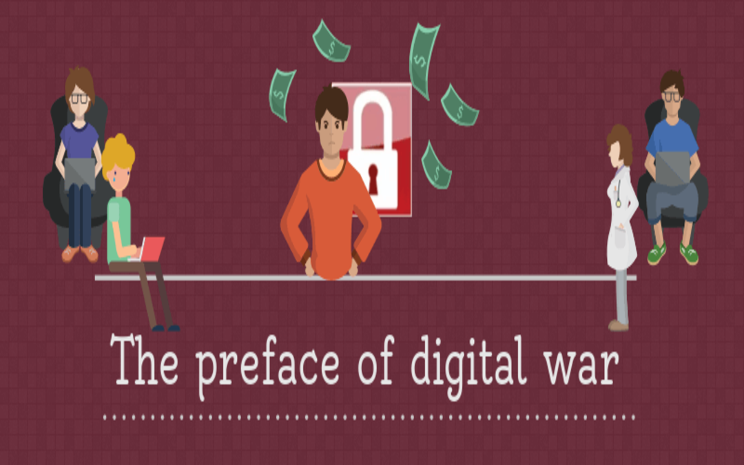 The preface of digital war – WannaCry