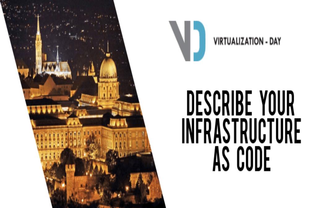 Describe your infrastructure as code