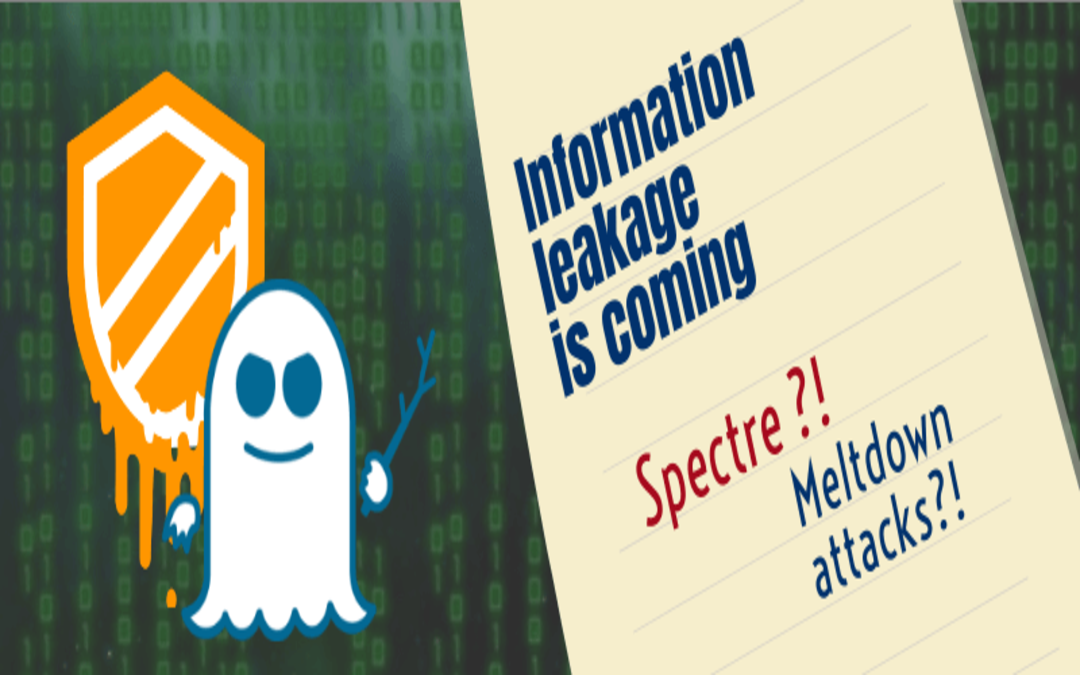 Meltdown and Spectre attacks