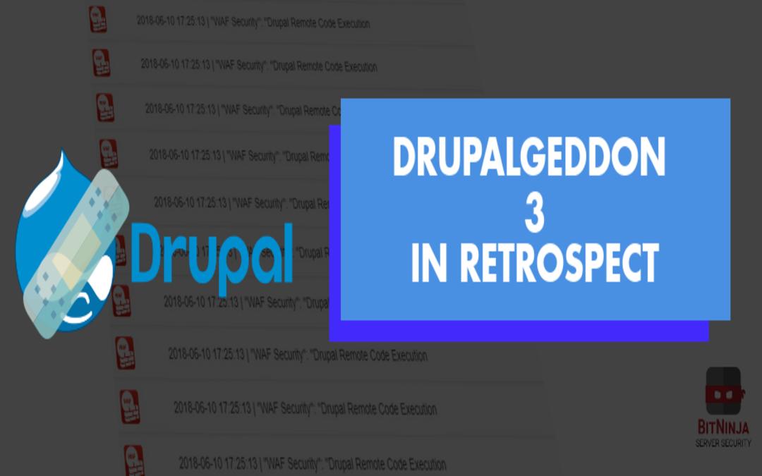 Drupalgeddon 3 in retrospect