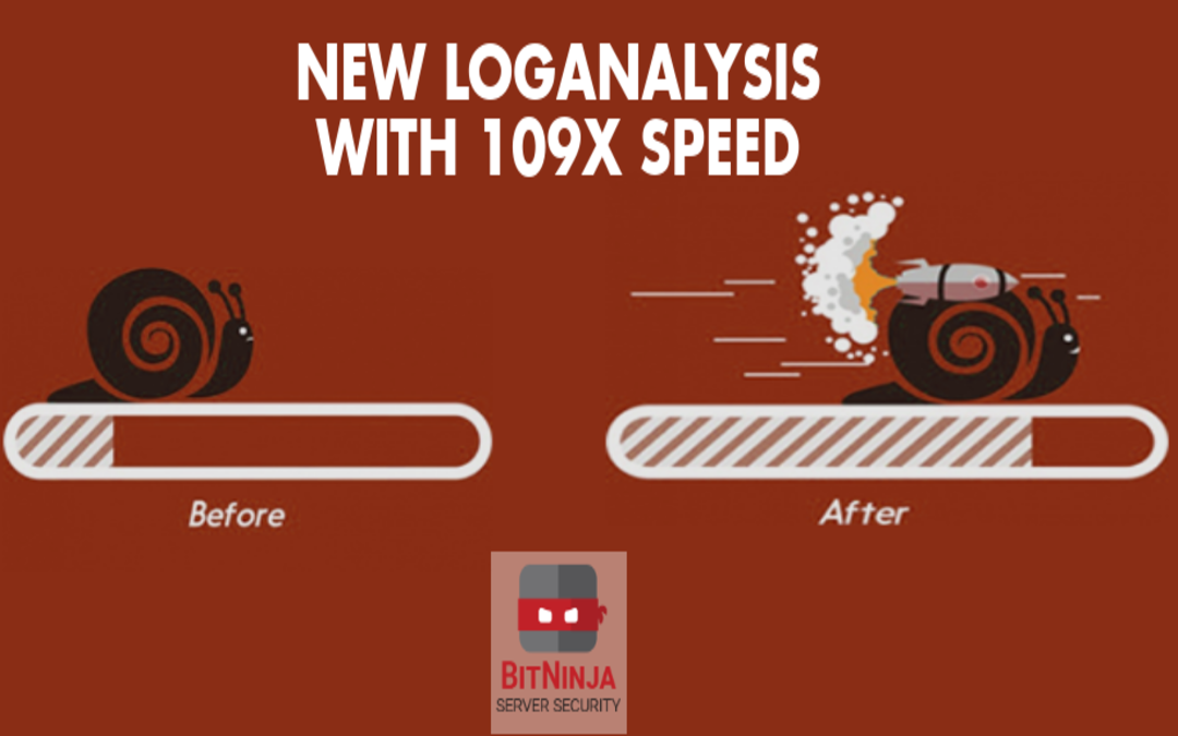 New LogAnalysis with 109x speed