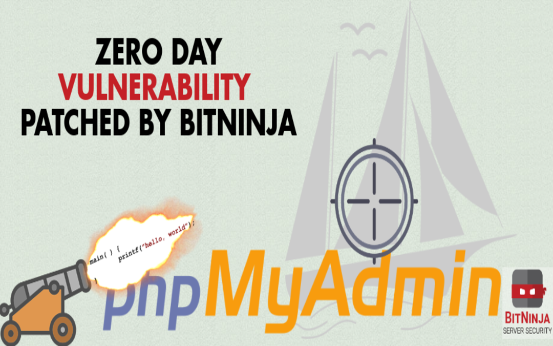 Zero Day phpMyAdmin Vulnerablity Patched by BitNinja