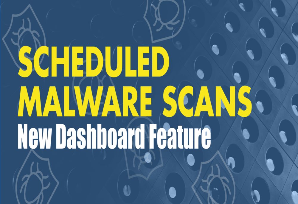 Manual Malware Scan – It's now available on the Dashboard