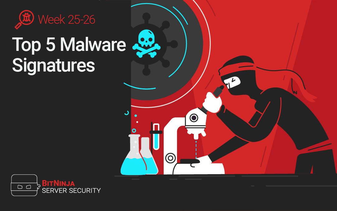 Top 5 Malware Signatures – Week 25-26